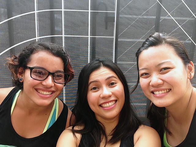 NTC Tour Sydney Girls: Isabella, Me and Barbara