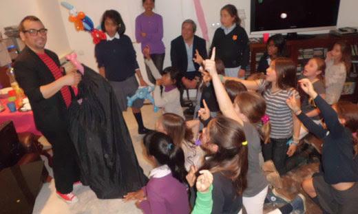 magia para cumpleaños infantiles en Madrid