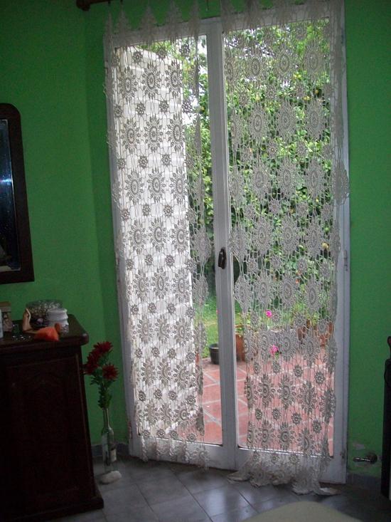 Cortinas De Baño Rosario:otra forma de buscar nuestro estilo con cortinas y tejidos de crochet