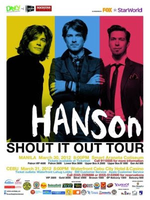 Hanson, music, events, concerts
