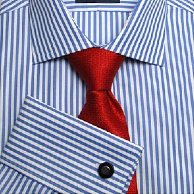 Vyriški dryžuoti marškiniai
