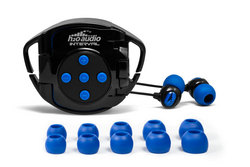 Swim with Interval 4G Waterproof Headphones and 4G Waterproof iPod® case