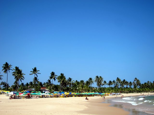 Guarajuba Beach in Bahia Brazil
