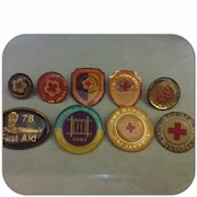 Pin Palang Merah Remaja (PMR)