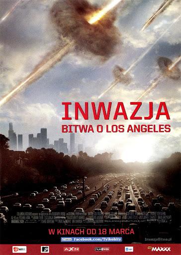 Przód ulotki filmu 'Inwazja: Bitwa O Los Angeles'