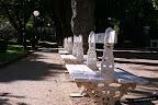 Alameda de Cervantes y la ermita de la Soledad