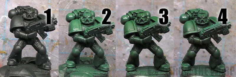 From the warp how to paint dark angels fast and dark