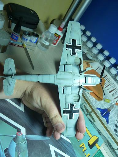 Bf-109 E-3 Tamiya 1/48 - Reforma pintura P1020567
