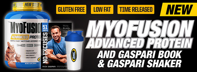 New Myofusion Advanced Protein