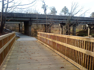 Upper Neuse Greenway at Capital Blvd.