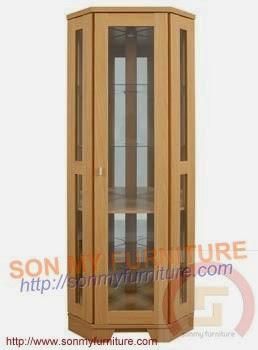 Tủ trưng bày gỗ 07
