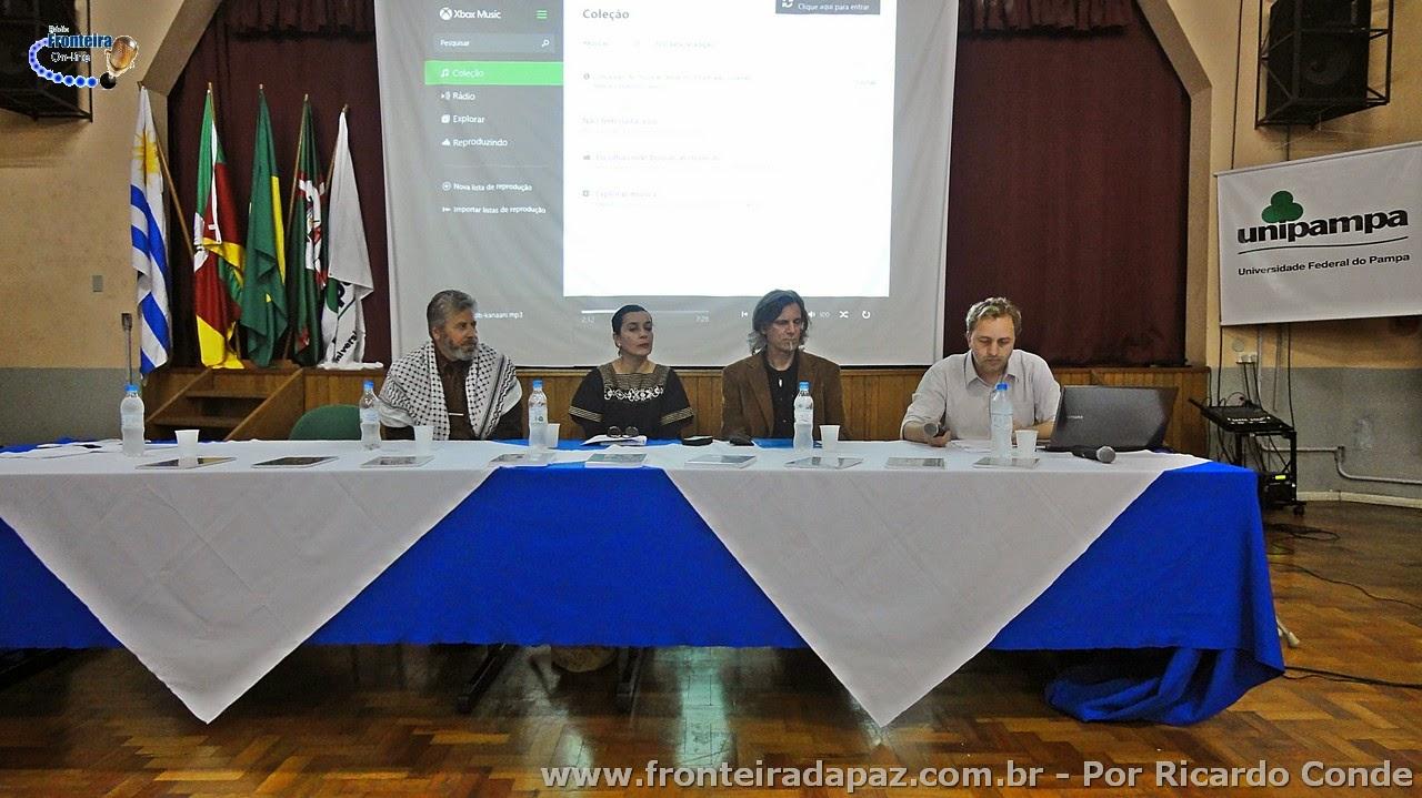 Ciclo de Palestras Um Olhar Sobre o Oriente reune sociedade da Fronteira da Paz