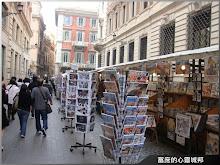 歐洲旅行義大利羅馬鬧市留念