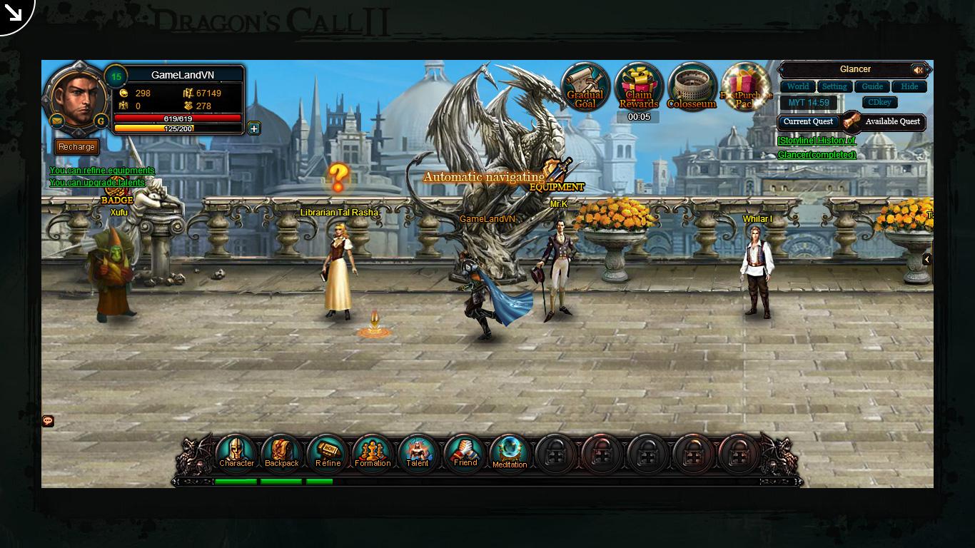 Một số hình ảnh về webgame Dragon's Call 2 - Ảnh 33