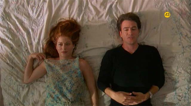 Debra Messing y Dermot Mulroney