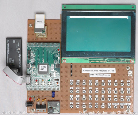 Wireless Instant Messenger Based On microcontroller M32C