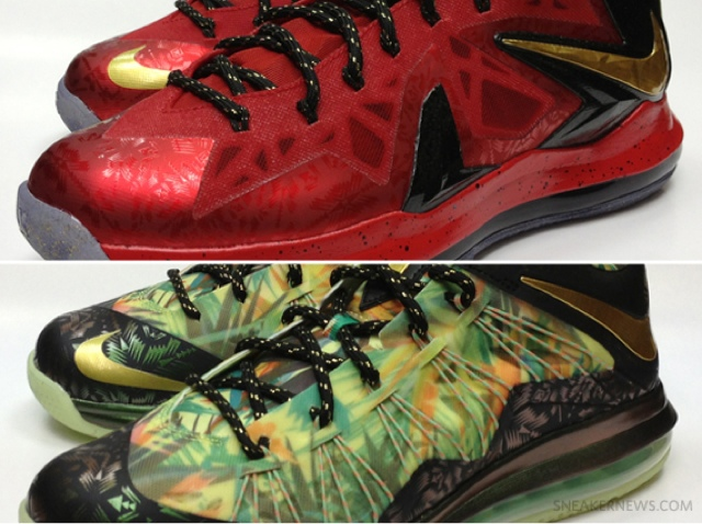 """56241560d37 Nike LeBron X """"Championship Pack"""" – House of Hoops Release Info ..."""