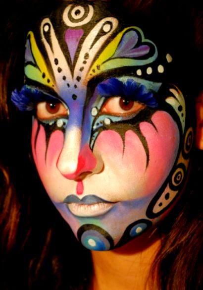30 Creative Face Painting Art Collection  Naldz Graphics