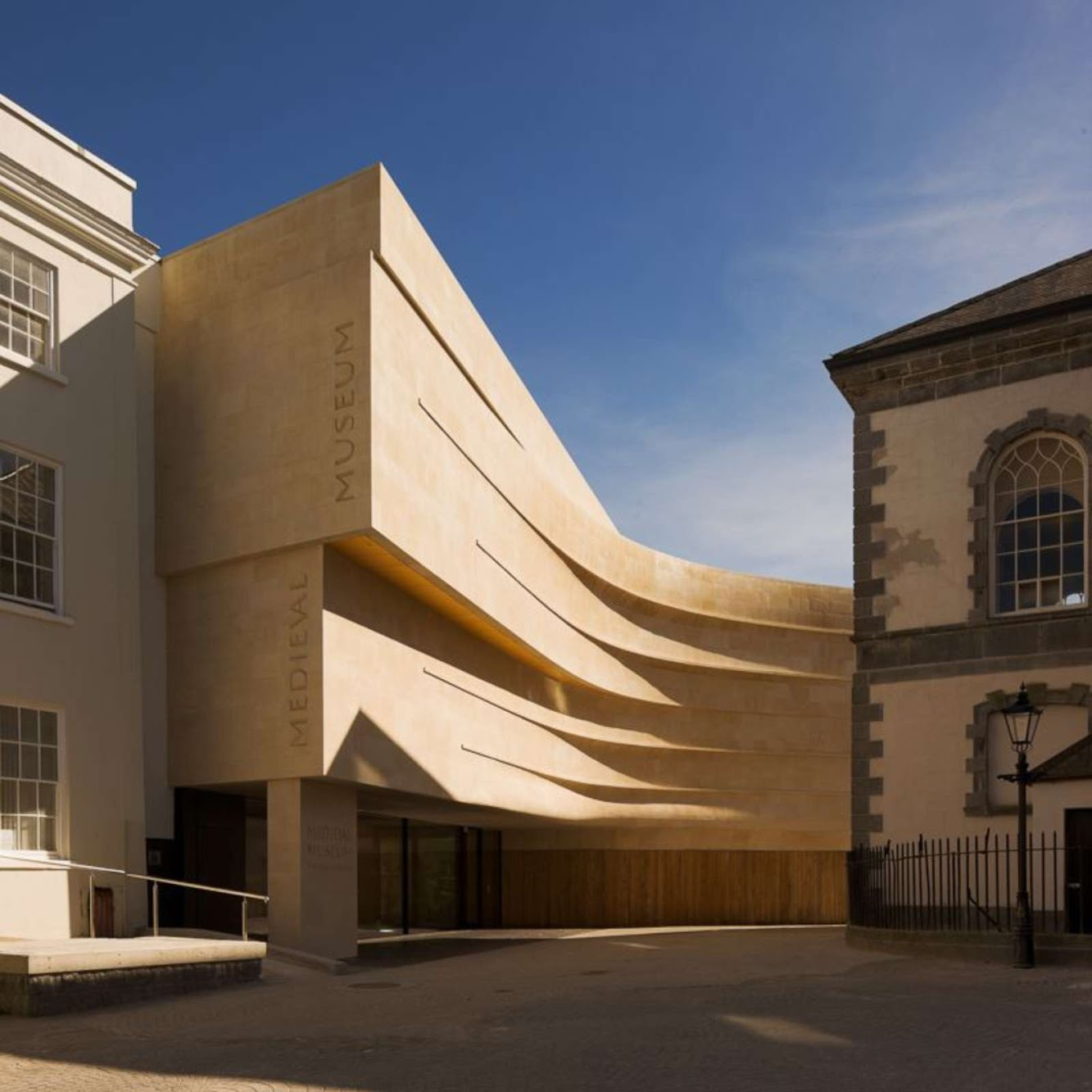 Museum: MEDIEVAL MUSEUM by WATERFORD CITY COUNCIL ARCHITECTS