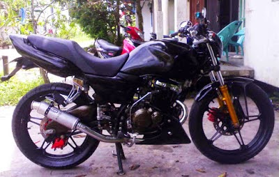 suzuki thunder modif trail
