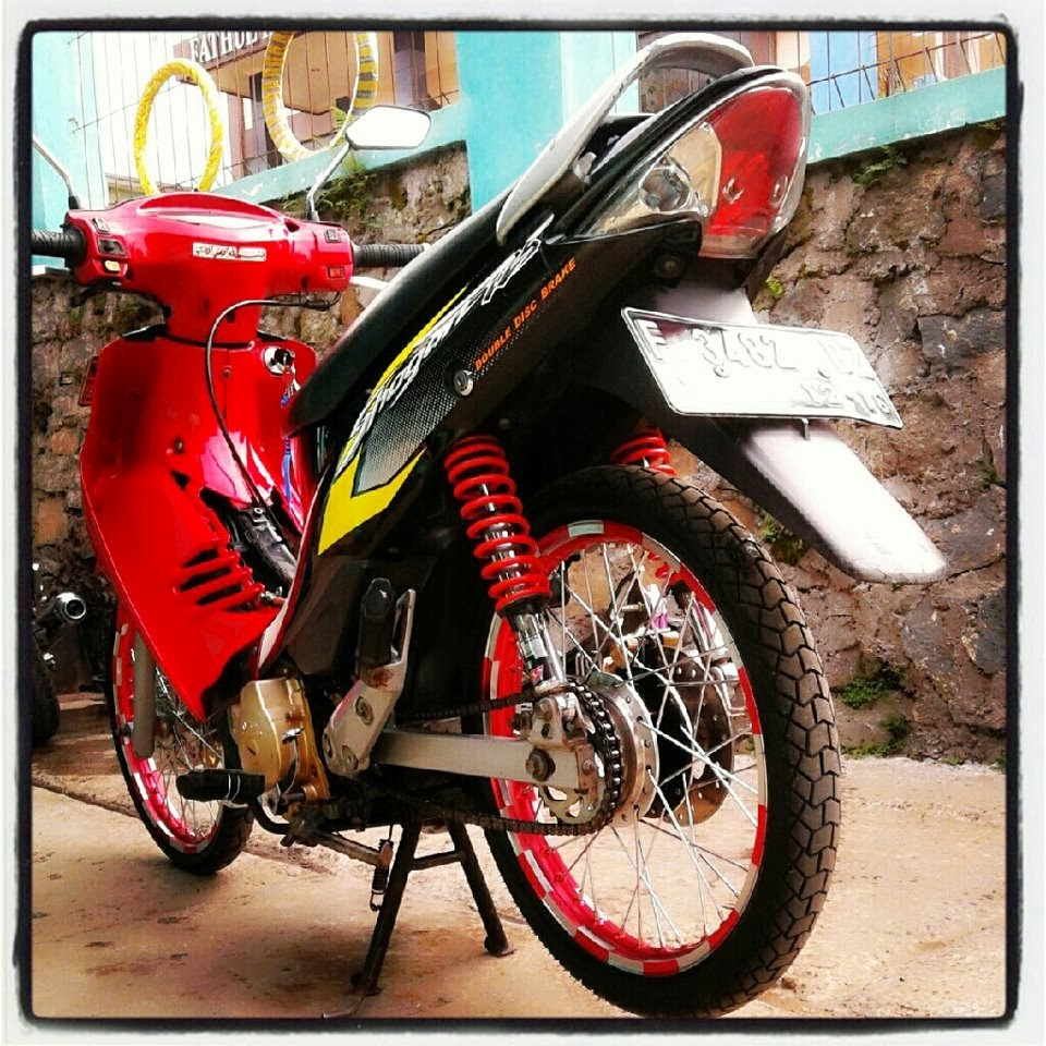 Modifikasi Suzuki Shogun 125