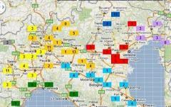 nord italia morti sul lavoro fino a 31-08-2011