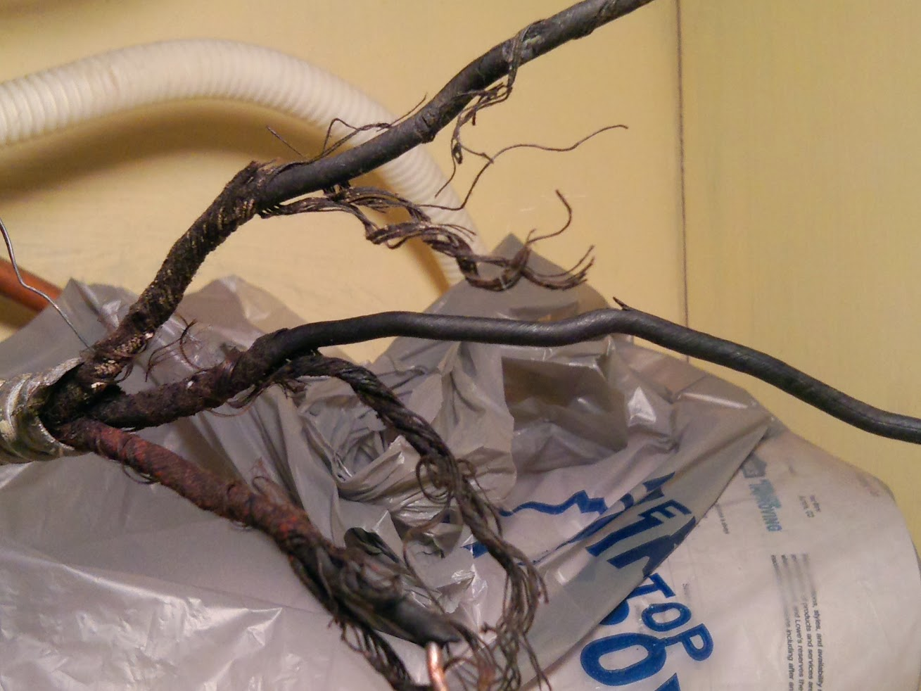 Can I Surface Mount An Electrical Box Under Sink Wiring 4 Plug Handyman Wire Usa