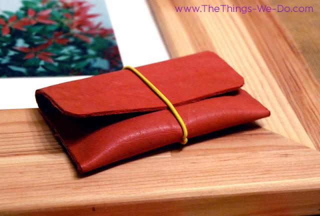 Pink Leather Cards CaseThings We Do Blog