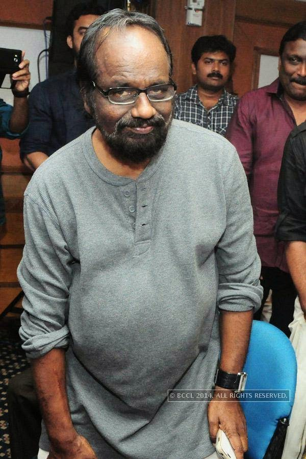 Lenin Rajendran during the premiere of Ennu Ninte Moideen, in Trivandrum.