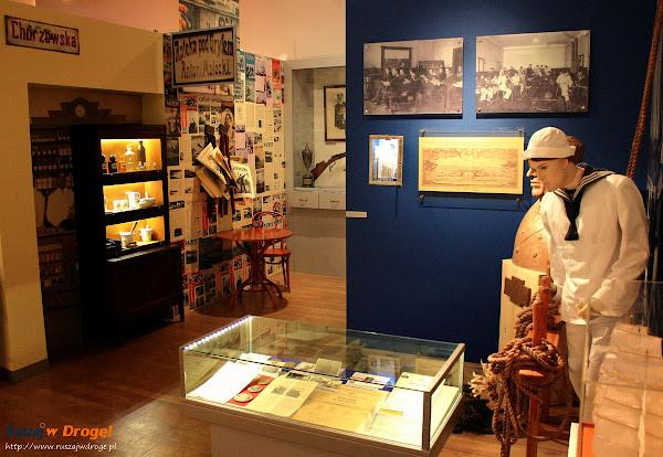 Ekspozycja  w Muzeum Miasta Gdyni