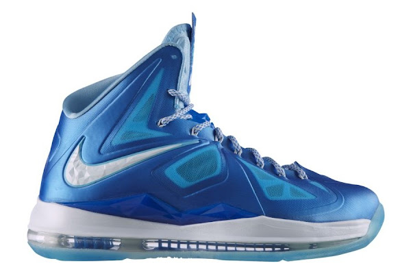 Release Reminder Nike LeBron X Sport Pack 8220Blue Diamond8221
