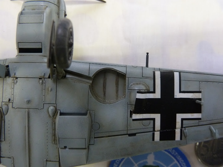 Bf-109 E-3 Tamiya 1/48 - Reforma pintura P1020663