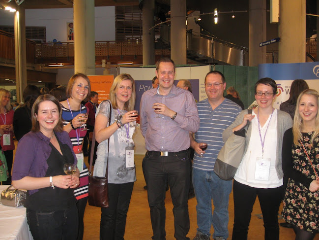 LILAC Networking Evening: Angela, Rosie, Me, Dan, Andy, Nancy and Michelle