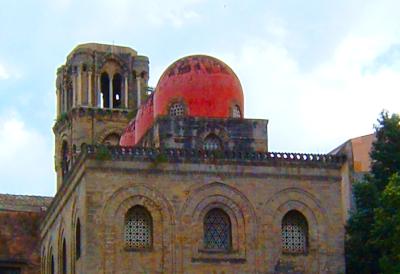Sizilien - Palermo - Die Kirche San Giovanni degli Eremiti