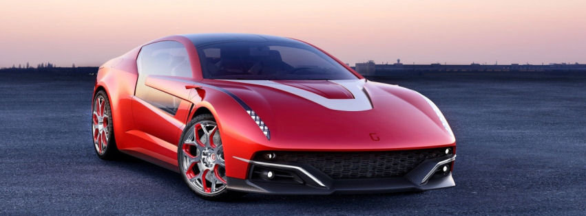Italdesign giugiaro brivido concept car facebook cover