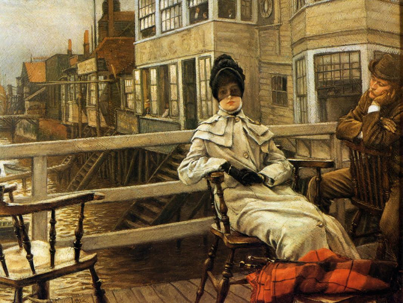James Tissot - Waiting for the Ferry