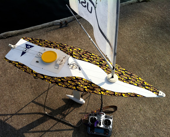 RC Laser Sailboat