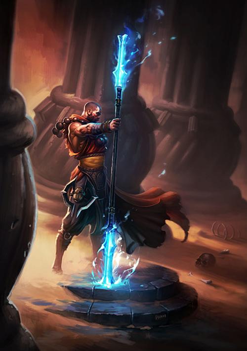 Ngắm thầy tu trong Diablo 3 lúc còn trên bản vẽ - Ảnh 2
