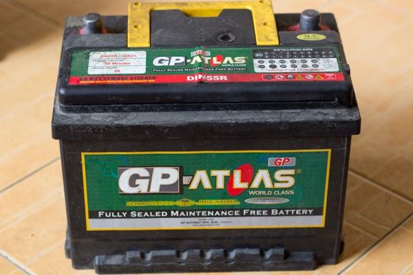 bateri jenama gp atlas