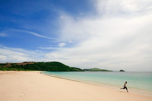 white, sand, beach