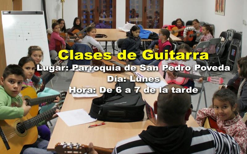 Comienzan las clases de guitarra