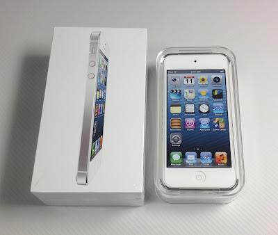 iPod touch第5世代とiPhone5:パッケージ
