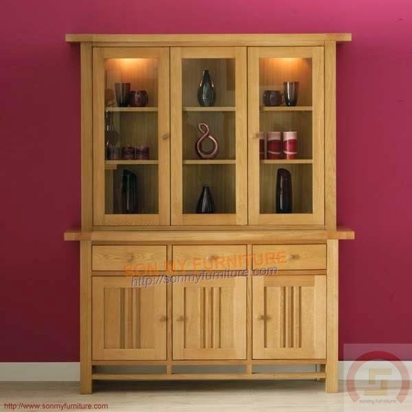 Tủ trưng bày gỗ 021