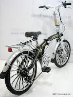 4 Sepeda Lipat FORWARD HIGH WIND 20 Inci
