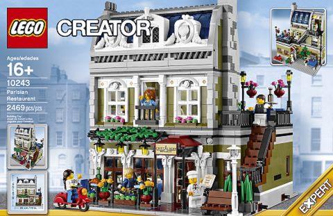 LEGO 10243 LEGO Parisian Restaurant - Một tác phẩm nghệ thuật