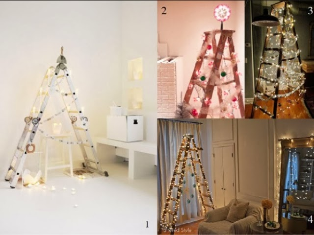 the last image is our ladder tree with half way finished claw foot couch next to it to heavy for me to move out of pic
