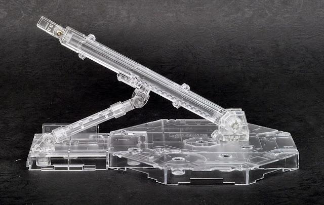 Chân đế dựng mô hình Gundam Action Base 1 Clear có thể điều chỉnh theo các hướng