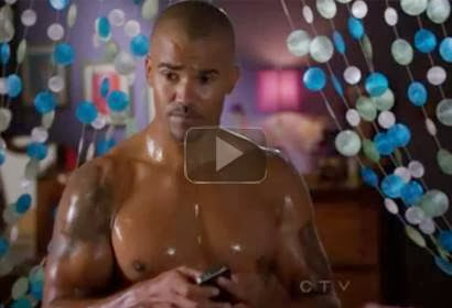 Criminal Minds - Derek Morgan Shirtless Video