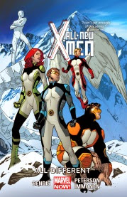 Cover art for All-New X-Men Volume 4