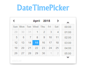 DateTimePicker – jQuery Date and Time Picker Plugin - Jquery chọn ngày tháng